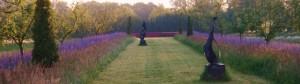 De zuidelijke tuin kijktuin
